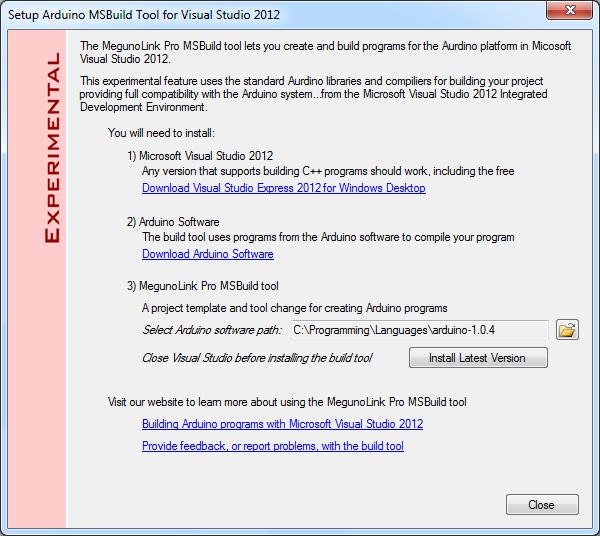 Visual Studio | Articles | MegunoLink