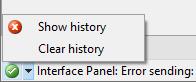 Error log
