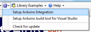 Install Arduino Integration