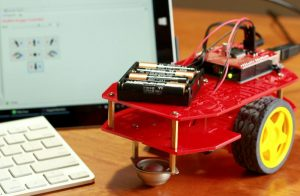 RedBot with MegunoLink interface