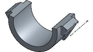 Door opener sensor mount