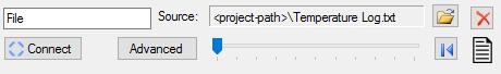 File configuration panel