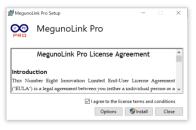 MegunoLink initial installer window