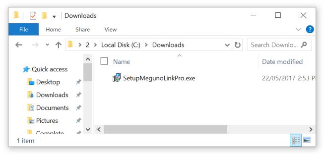 Locate installer files