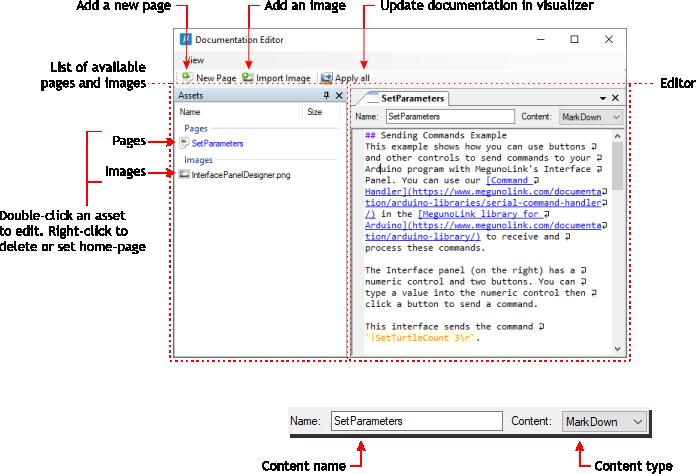 documentation editor