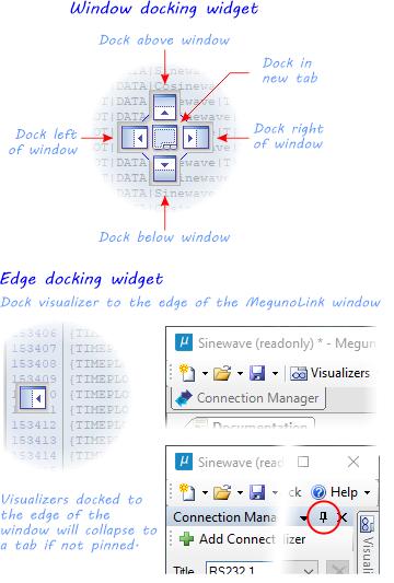 Docking widgets
