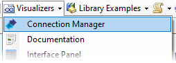 Open connection manager