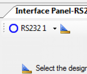 Getting Started with the Interface Panel